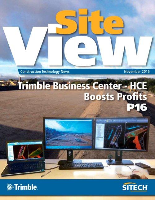 RT @TrimbleCEC: Just released, the latest issue of SiteView magazine! – https://t.co/LNiG50dQxJ https://t.co/6ozJrub5h4