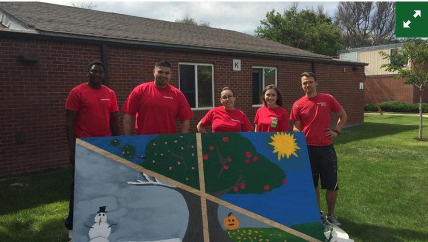 Good works: @KeyBank employees help 21 local nonprofits. From @denbizjournal https://t.co/miadGBTddQ https://t.co/FRtzbtobcH